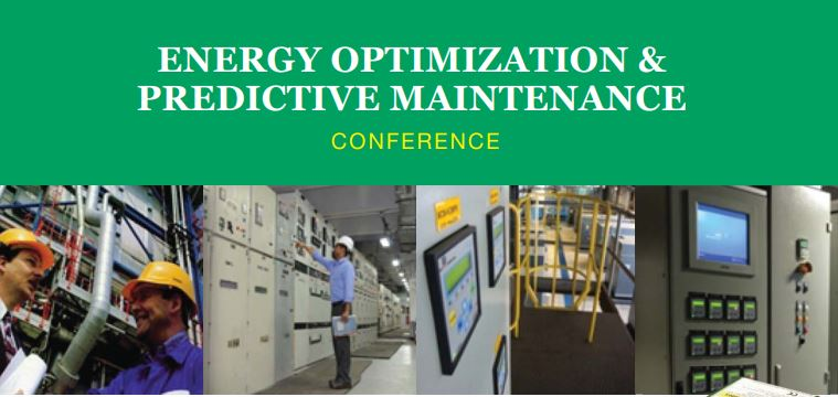 27th August 2014 : Energy Optimization & Predictive Maintenance Conference