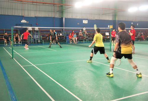 Badminton Activity
