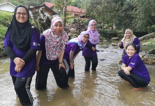 Team Building Lembah Pangsun
