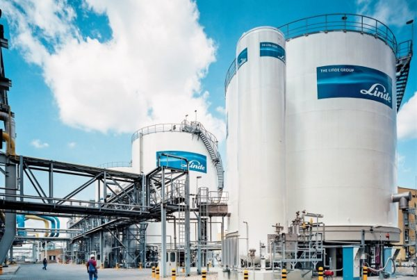 Industrial Linde Gas Plant Project