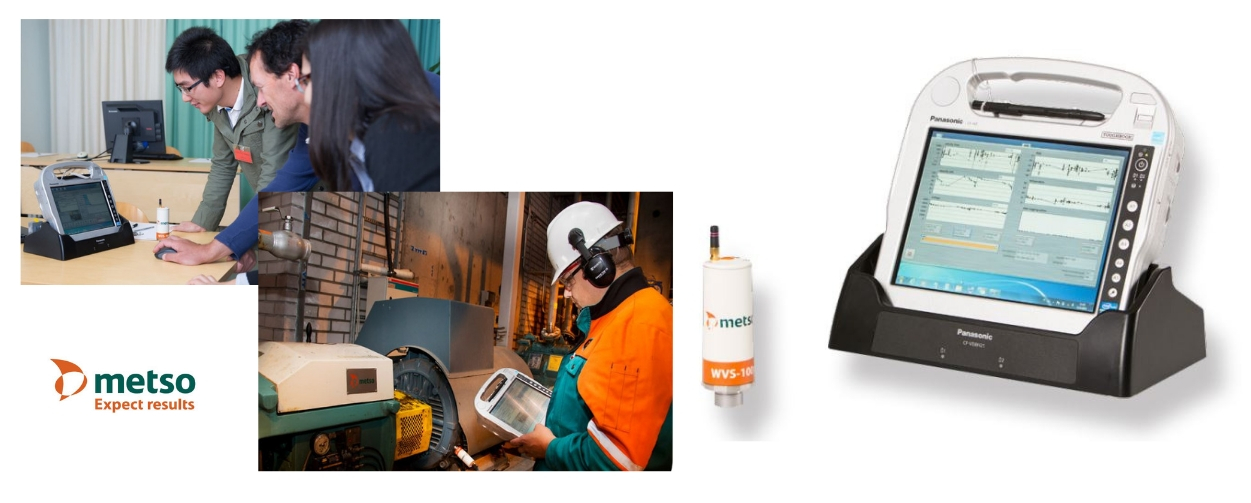 Metso Maintenance Pad : Machine Analyzer to secure production, protect plant assets and improve maintenance efficiency