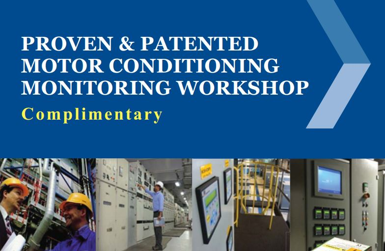 Proven & Patented Motor Conditioning Monitoring Workshop, 6th August 2015