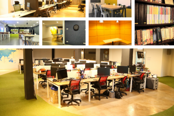 Newly Renovated Collaborative Office