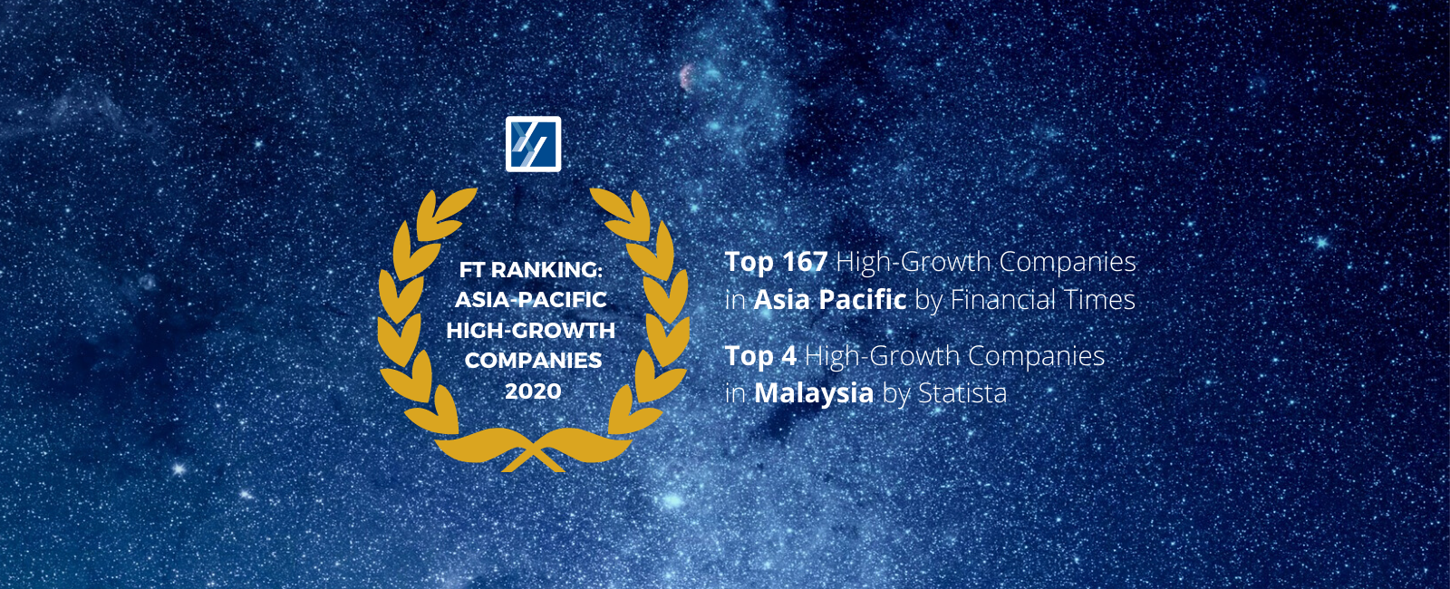 YNY Technology recognized by Financial Times as High-Growth Companies in Asia-Pacific 2020